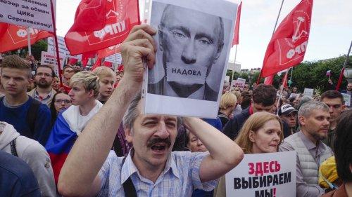Putins verdeckter Krieg gegen den Westen  cover image
