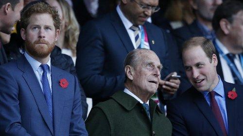 Prinz Philip: Harry und William laufen bei Beerdigung getrennt