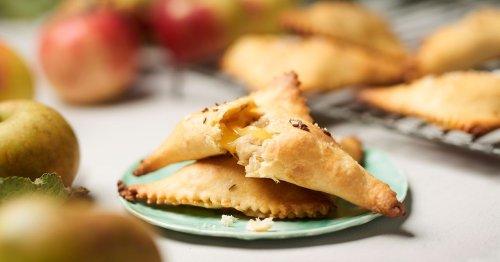 Miss Bavarian Pie: Apfel-Käsetaschen-Rezept