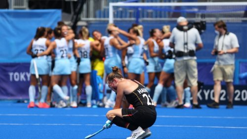 Olympia:Deutsche Hockey-Frauen scheitern im Viertelfinale