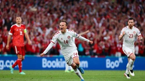 Fußball-EM:Dänemark düst mit Belgiens Hilfe ins Achtelfinale