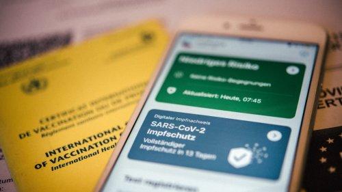 Digitale Impfzertifikate:Warum so viele Impfpässe ausgestellt wurden