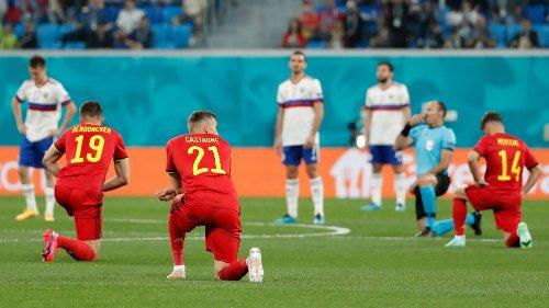 Belgien vs. Russland bei der EM 2021:Russland bleibt stehen