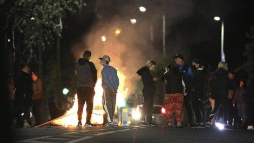 Nordirland:Weitere Ausschreitungen in Belfast