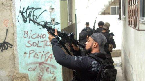 Brasilien:Rio de Janeiro erlebt blutigsten Polizeieinsatz seiner Geschichte