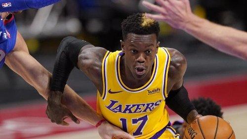 Schröder erneut im Gesundheitsprotokoll - Lakers verlieren
