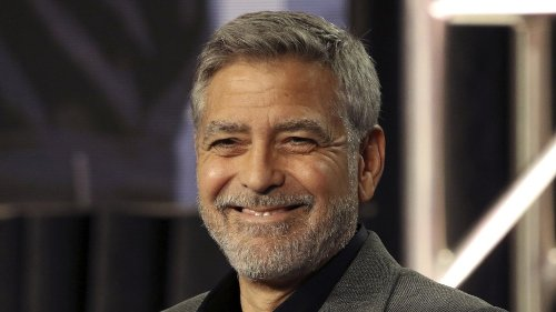 George Clooney trifft einen Doppelgänger