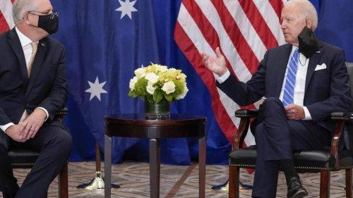 """Diplomatie:Maas nennt neue US-Allianz """"irritierend"""" und """"ernüchternd"""""""