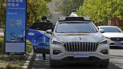 VW, Moia und Argo: Im Robotaxi durch Hamburg