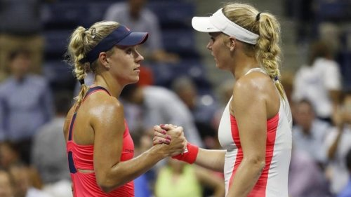 Tennis:Wozniacki bei Abschied gegen Kerber statt Williams