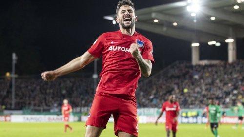 Hertha BSC im DFB-Pokal:Berlin träumt noch nicht von Berlin