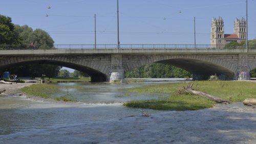 Nach Hochwasser:München gibt Isar zum Baden und für Boote frei