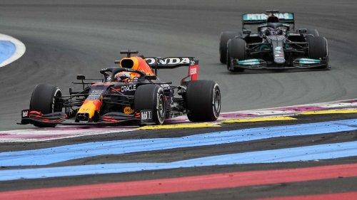 Formel 1 in Frankreich:Verstappen überrumpelt Hamilton