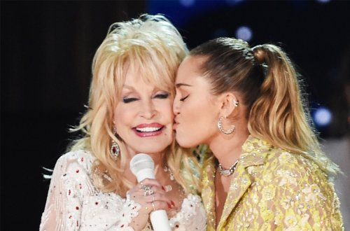 Miley Cyrus Calls Dolly Parton a 'Godlike Figure' In Touching Essay