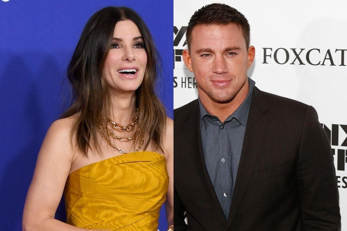 Sandra Bullock's Boyfriend Worried About Her Flirting With Channing Tatum?