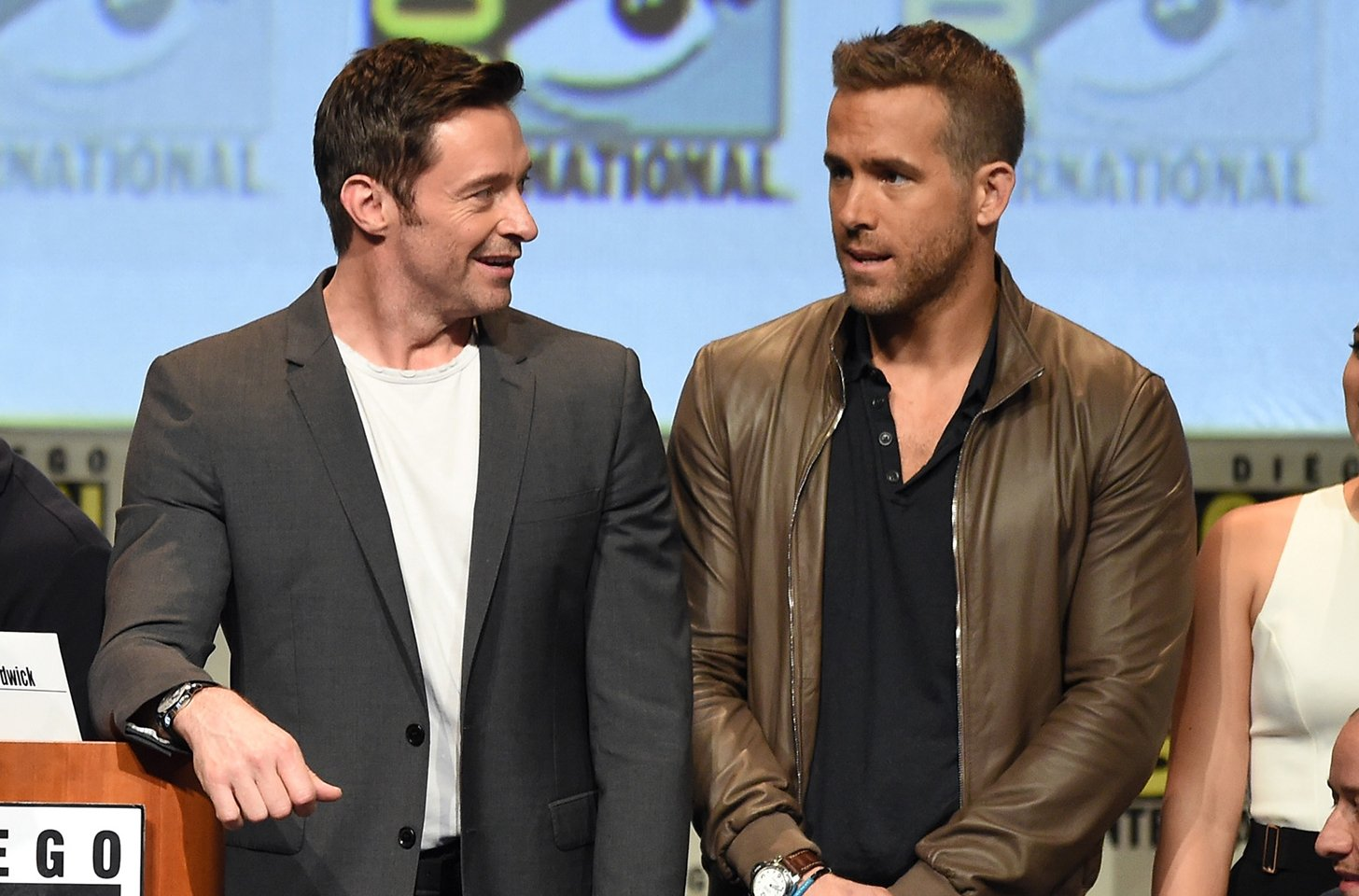 Hugh Jackman Throws Shade At Ryan Reynolds (Again) While Praising Blake Lively