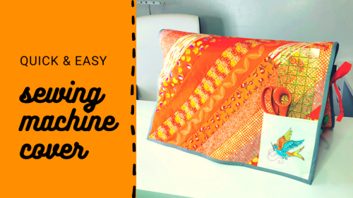 Sewing Machine Cover for Spring Cleaning Your Sewing Space - Sulky
