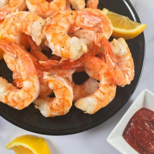 Frozen Shrimp in Air Fryer (Recipe + VIDEO!)