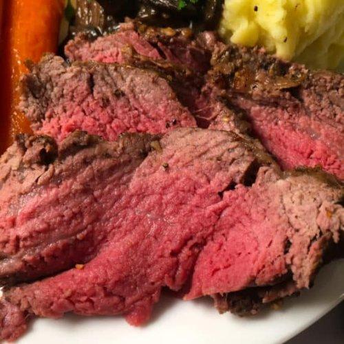 Air Fryer Roast Beef (Recipe + VIDEO!)
