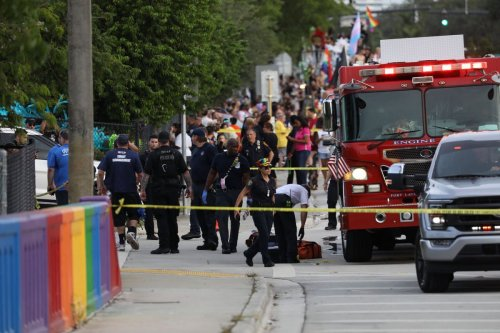 One dead after pickup truck drives into crowd at Wilton Manors LGBTQ Pride parade