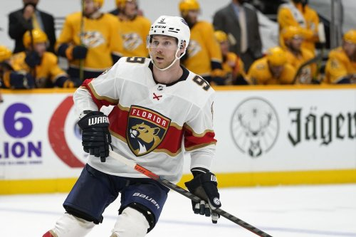 Sam Bennett has 'never felt so comfortable' playing hockey than with Panthers