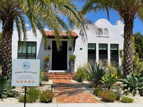 Take a self-guided tour of Delray Beach's celebrated historic houses