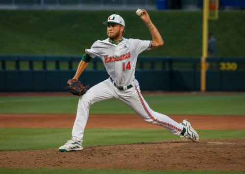 Hurricanes pitcher Carson Palmquist named to Collegiate National Team