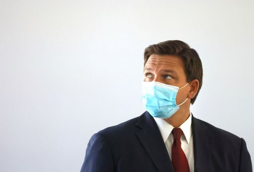 DeSantis holds a secret meeting to drive home his opposition to masks at schools