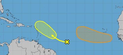 Storm systems emerge as peak hurricane season nears