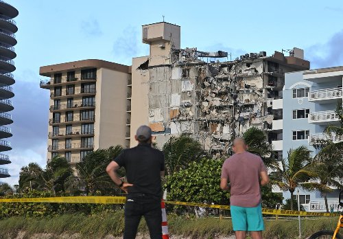 Dozens of Jewish residents missing in condo collapse