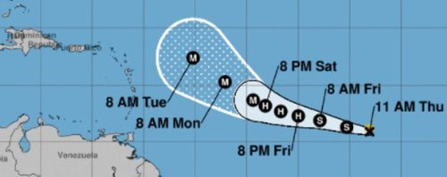 Tropical Storm Sam will likely be a hurricane by Friday, experts say