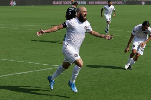 Gonzalo Higuaín's two goals, including game-winner, give Inter Miami victory over FC Cincinnati