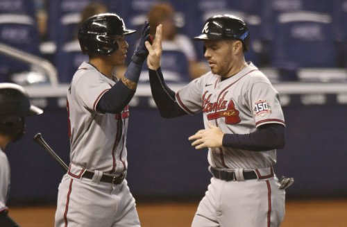 Lopez's sloppy first inning hobbles Marlins as Riley, Braves avoid sweep