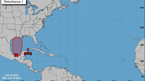 Tropical system expected to soak the Gulf Coast. Here's when rain is likely to arrive