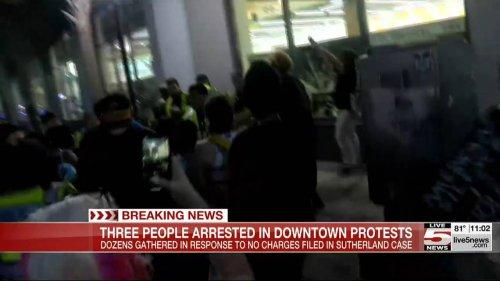 3 arrested at protest over death of Black man pepper-sprayed, tased in jail, SC cops say
