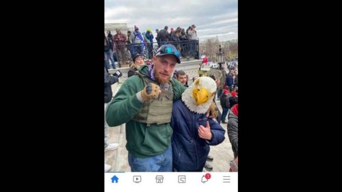 Georgia man accused of storming Capitol shared 'post victory' photo online, FBI says