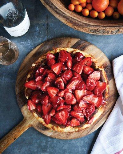 Burnt Basque Cheesecake Recipe - Sunset Magazine