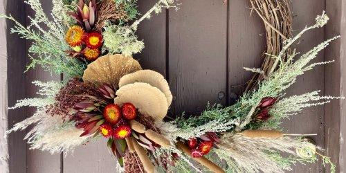 How to Make a DIY Fall Wreath - Sunset Magazine