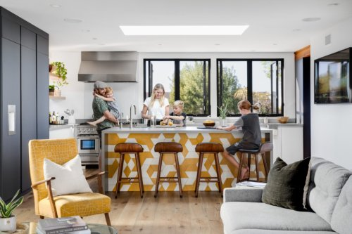 Modern Style Home Design Mixes Minimal Decor With New Tile Ideas - Sunset Magazine