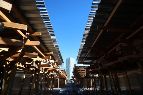 Japan Used Sustainable Timber to Build for the Olympics. Here's How to Incorporate it into Your Own Home - Sunset Magazine