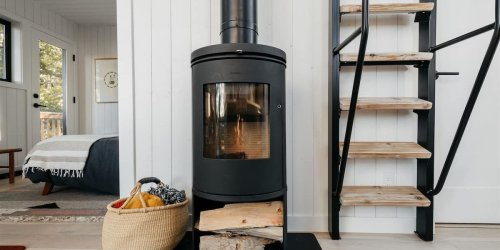 A Tiny Wood Stove Is the Cozy-Glow Heater Your Cabin Needs - Sunset