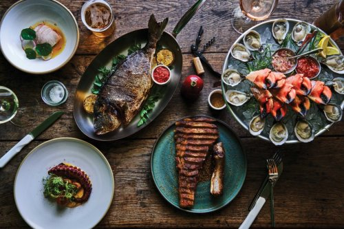 Bar Le Côte Brings Ranchish Food to California Wine Country - Sunset Magazine
