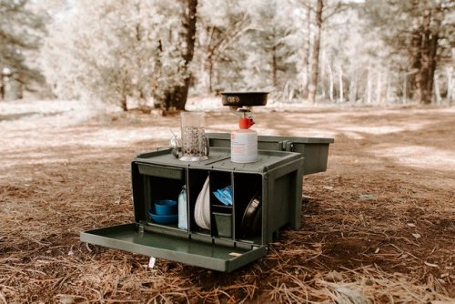 This Camp Kitchen Box Makes Outdoor Cooking Easier Than Ever - Sunset Magazine