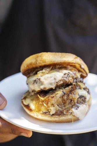 Chef Horn's Matty Burger Recipe - Sunset Magazine