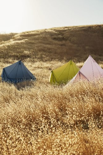 These Colorful Tents from the Glamping Pros at Shelter Co. Are Too Cute to Stay Inside - Sunset Magazine