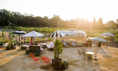 Low-key, Playful and Ready for a Glass of Cab: Steal These Outdoor Living Ideas from a Whimsical Napa Tasting Garden - Sunset Magazine