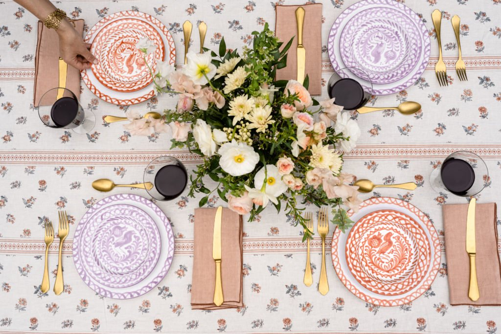Hosting a Summer Garden Party? Set Your Table with These Hand-Painted Ceramics