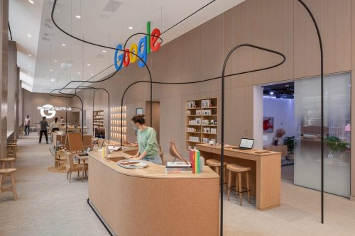 Google's First Permanent Retail Store Feels Like an Exploratorium – SURFACE