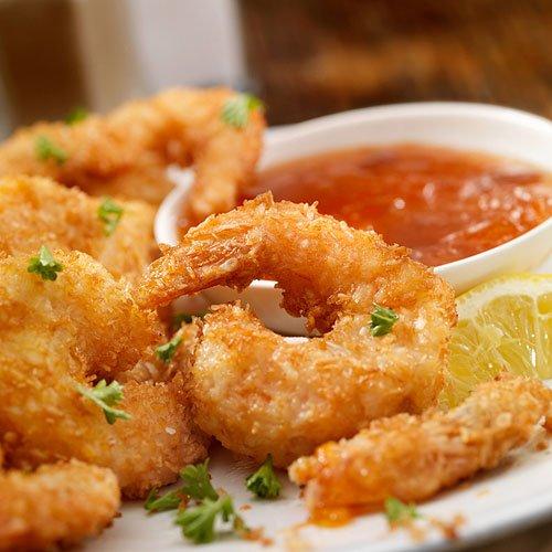 Popcorn Shrimp with Bloody Mary Aioli Recipe | Sur La Table