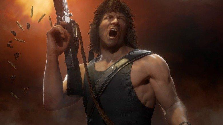 The Big Twist Behind Mortal Kombat 11's Rambo Explained